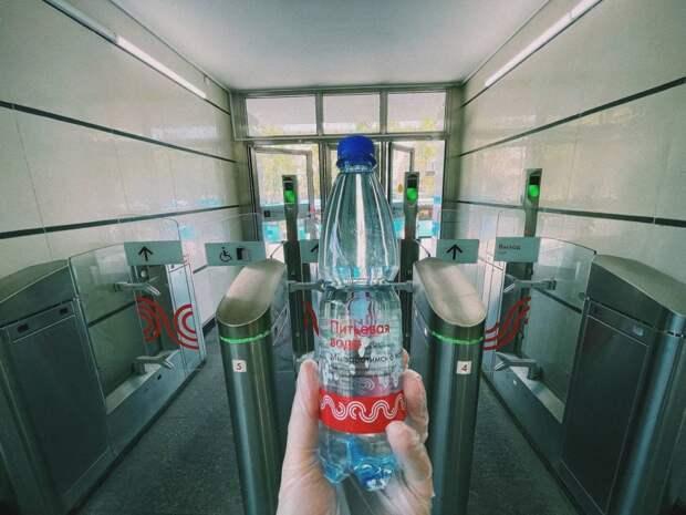 На станции «Владыкино»  пассажиры могут бесплатно получить воду