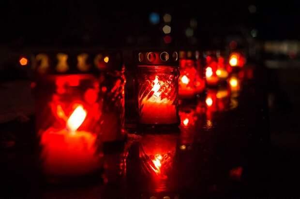 На территории бывшего концлагеря «Красный» прошла акция «Зажги свечу памяти»