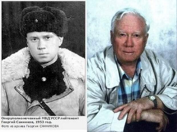 Ветеран советских спецслужб Георгий Санников