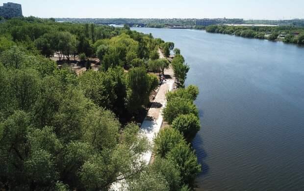 Сенатор Святенко: Капотня становится одним из самых зеленых мест Москвы благодаря городским проектам