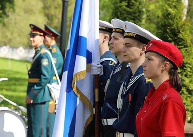 Воспитанников кадетского морского корпуса в Гусеве приняли в кадеты