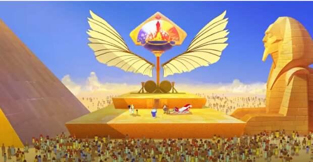 Три богатыря и принцесса Египта | Мультфильмы для всей семьи