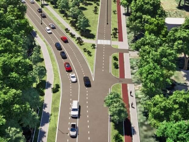 Собянин утвердил проект реконструкции Ботанической улицы