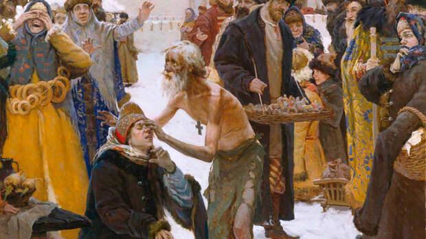 За что русские цари любили юродивых
