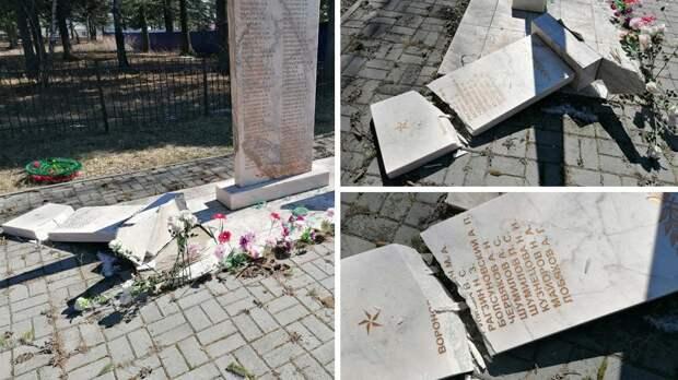 Памятник героям Великой Отечественной войны разгромили под Томском