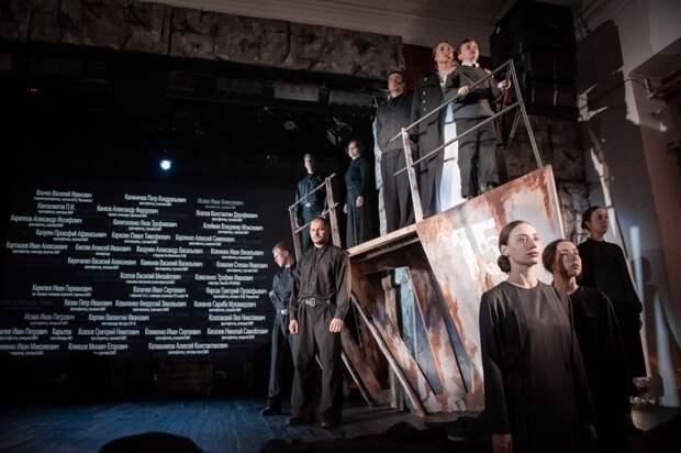 В Крыму прошла премьера спектакля о подвиге Евпаторийского десанта