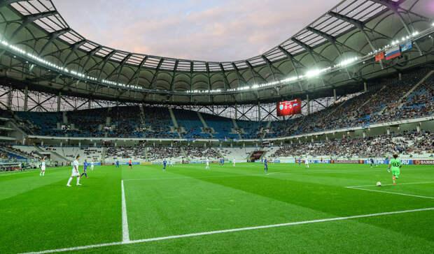 1-1— после первого тайма матча«Сочи»— «Ротор»