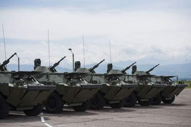 Армия Сербии получила от Минобороны России партию бронетехники