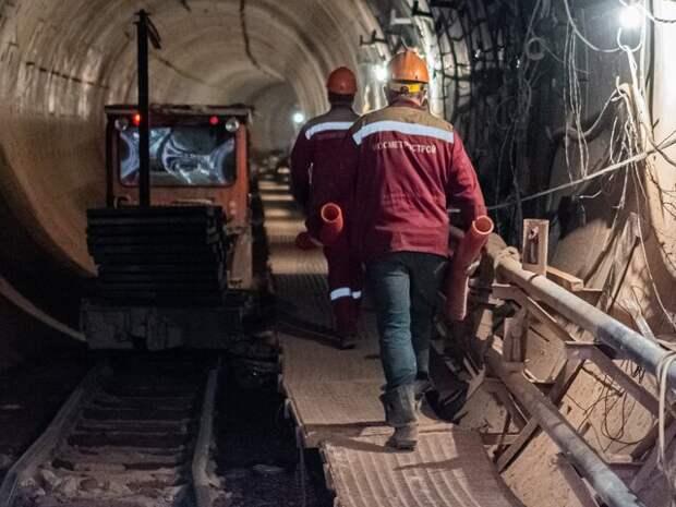 Собянин дал старт проходке тоннеля Калининско-Солнцевской линии метро