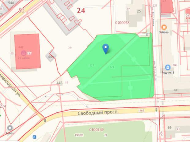 Мэр Красноярска официально запретил строительство храма в сквере на Баумана