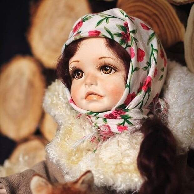 Куклы из русской деревни от Ирины Щербаковой. Вот это мастерство!