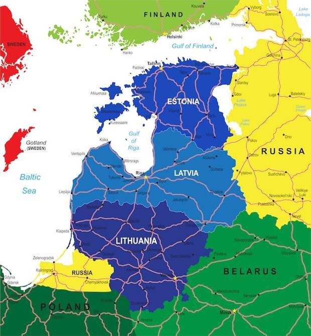 Особенности балтийской борьбы с международным терроризмом
