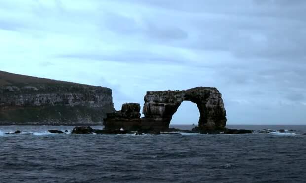 В Тихом океане обрушилась Арка Дарвина