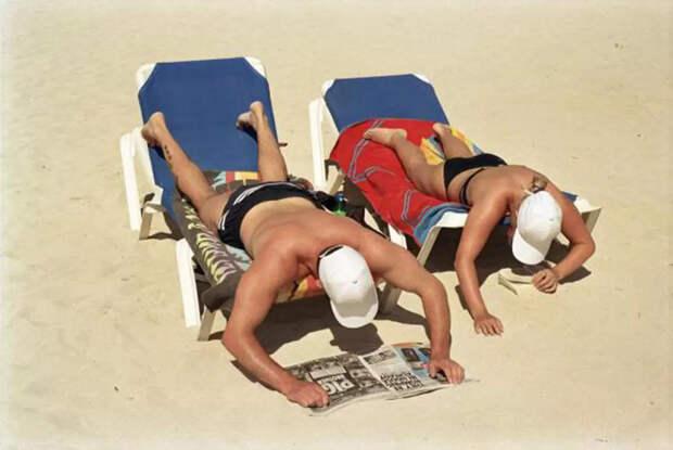 Мартин Парр: жизнь — это пляж