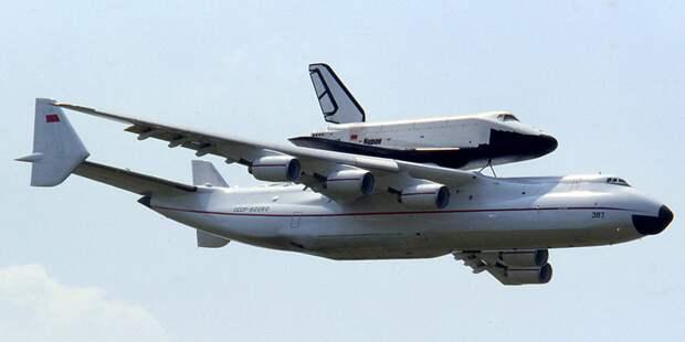 Воздушный космодром для внеземных аппаратов