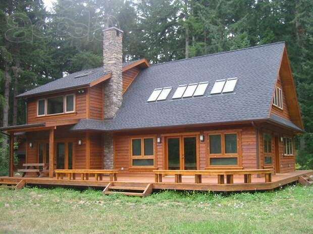 Бюджетный дом для большой семьи или завтра будет большая стройка.