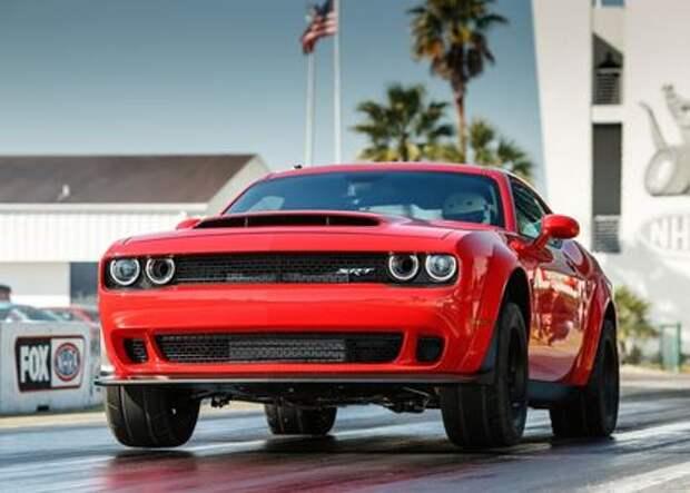 Изгнать Демона: в Америке предлагают запретить свирепый Dodge