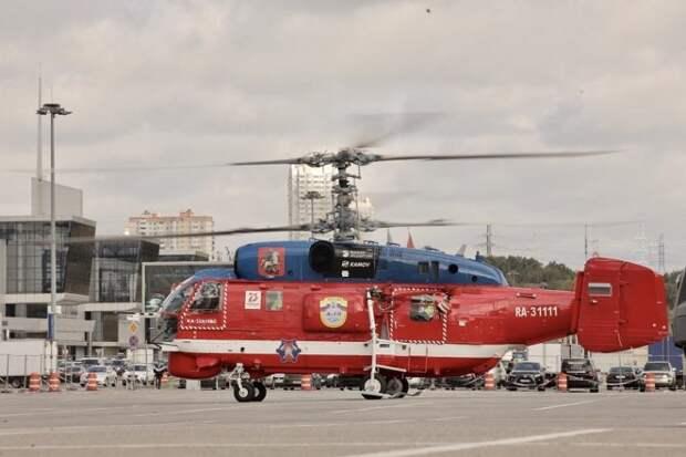 В Москве проходит Международная выставка вертолетной индустрии HeliRussia