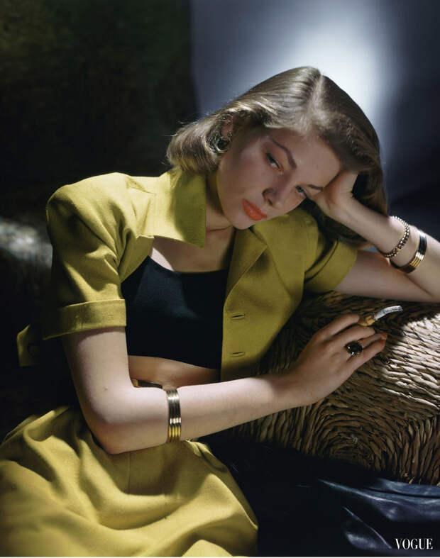 Гламурные 1940-е в цвете