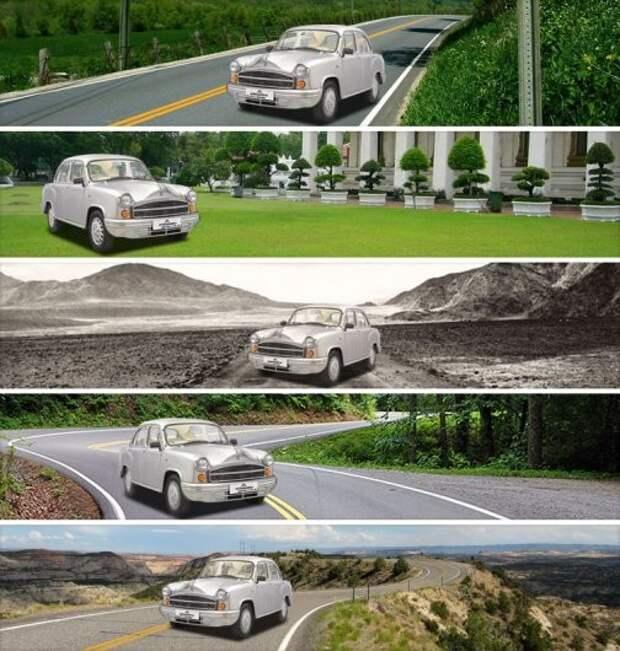 2) Hindustan Ambassador авто, история, факты