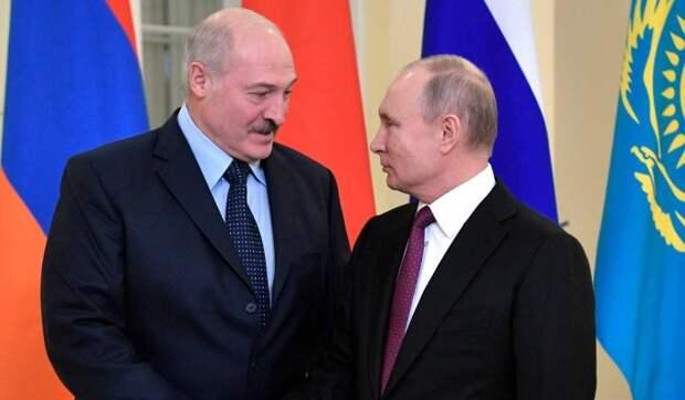 В Кремле озвучили темы предстоящих переговоров Путина и Лукашенко