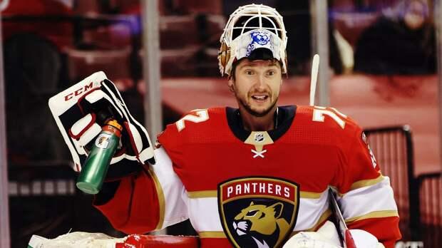 Бобровский — о серии «Флориды» с «Тампой»: «Мы с Василевским будем делать важные сэйвы. Это будет веселый хоккей»