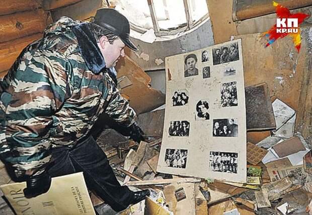 """Таким застали музей Зои Космодемьянской журналисты """"КП"""" несколько лет назад. Фото: Дмитрий СТЕШИН"""