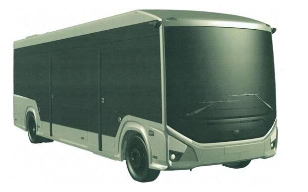 ГАЗ запатентовал городской электробус e-CityMAX-9
