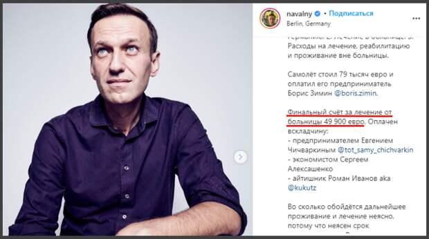 Медстатистика Германии опровергает версию отравления Навального «Новичком»