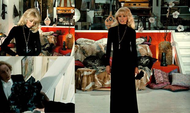 """кадры из фильма """"Высокий блондин в черном ботинке"""""""
