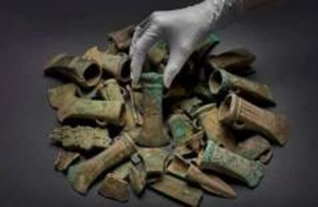 В Британии найден клад бронзового века