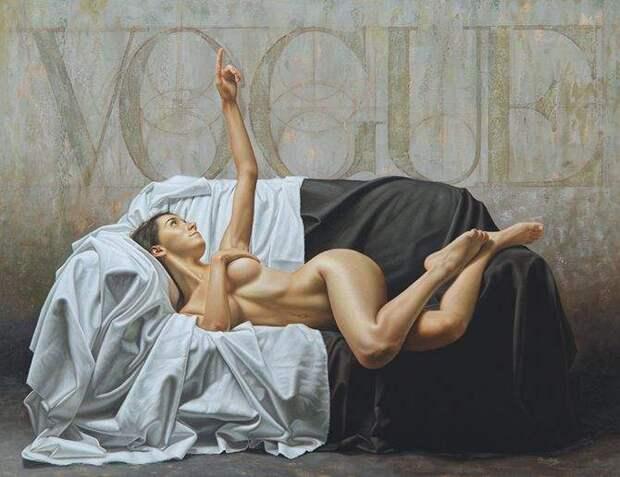 Соблазнительные шедевры короля гиперриализма Омара Ортиса