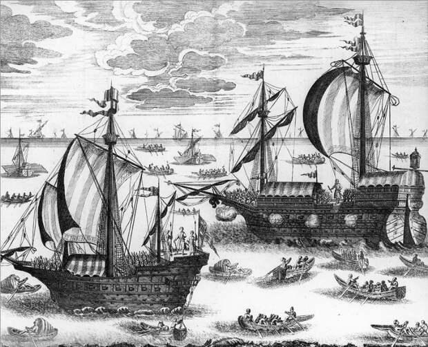 Азовский флот. <br>