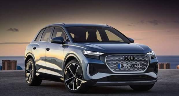 Audi Q4 e-tron: высокотехнологичное освоение космоса