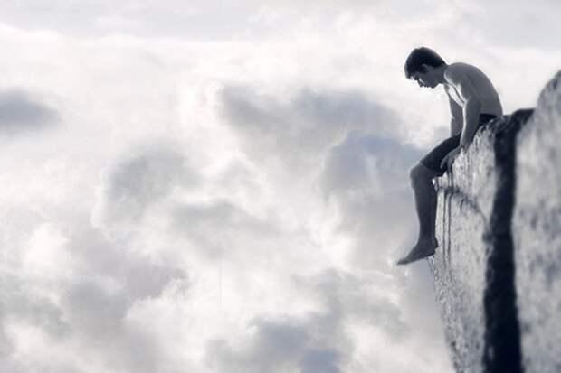 Не спешите прыгать с обрыва....