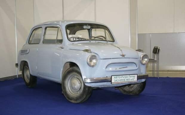 Редкие и дорогостоящие отечественные автомобили прошлого