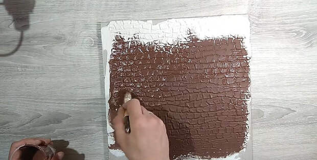 Гениально и просто: декоративный валик для шпаклёвки своими руками