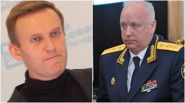 В Сети предложили Бастрыкину зачитать Навальному приговор в стихах