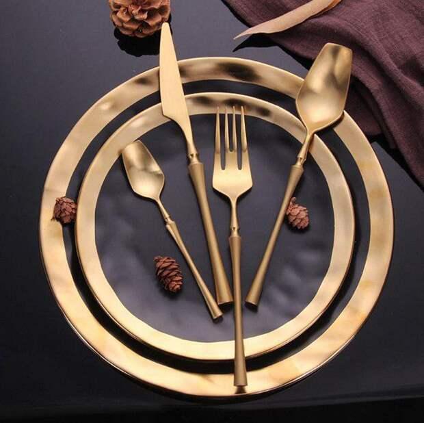 Красивые наборы столовых приборов с Aliexpress, с которыми даже еда станет вкуснее