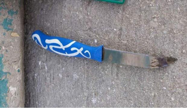 Предотвращена попытка ножевого теракта у КПП Офра