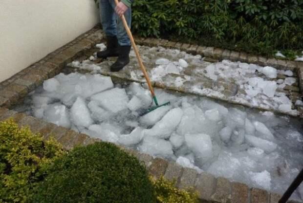 Разбивание льда