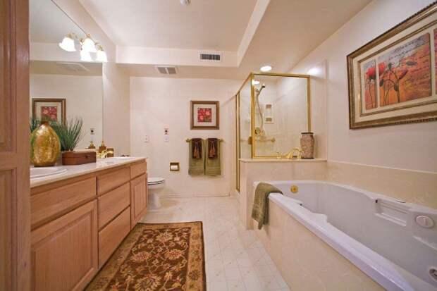 Роскошный декор для ванной комнаты