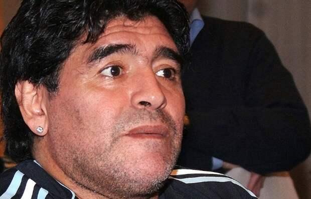 Диего Марадона. Фото: Santiago Armas/ZUMAPRESS.com/www.globallookpress.com