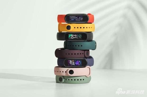 Xiaomi представила браслет Mi Band 5