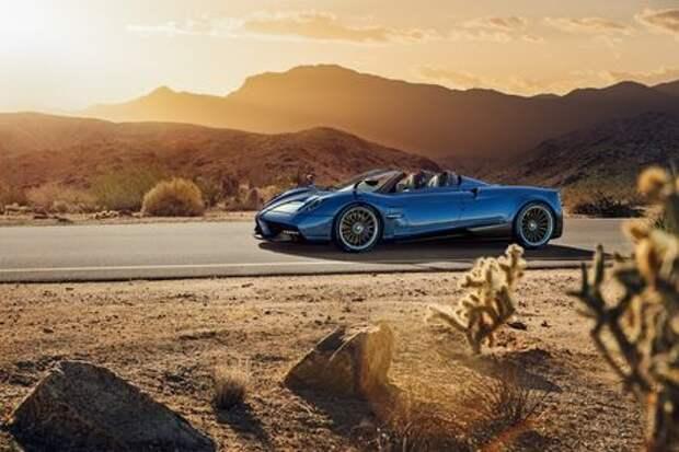 Roadster – шедевр: Pagani представила облегченную Huayra без крыши