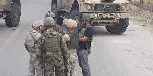 Российские военные заблокировали американский патруль в Сирии