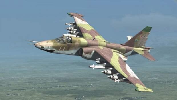 Встреча с русским Су-25 закончилась для американских пилотов секундами ужаса и позорным бегством