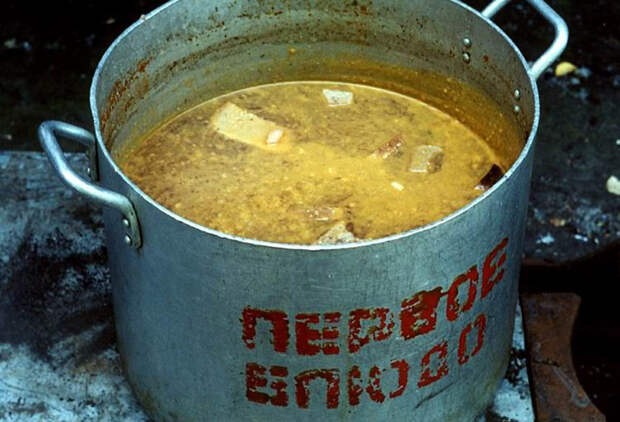 Убогие блюда советской кухни.
