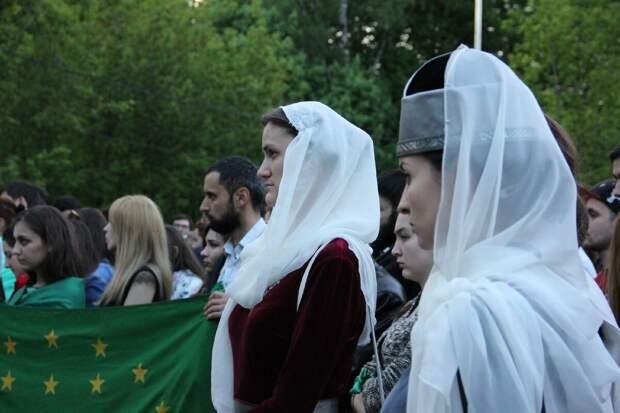 Черкешенки активистки в Турции