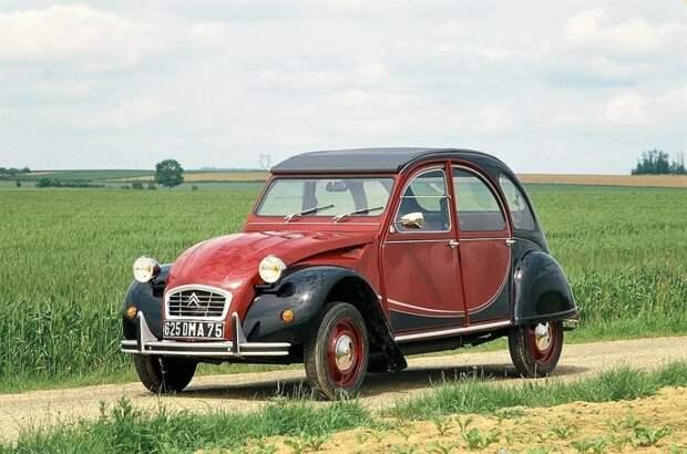 Одна из поздних версий модели — 2CV в исполнении 'Чарльстон' Citroen 2CV, citroen, авто, автомобили, олдтаймер, ретро авто, францкзкий авто